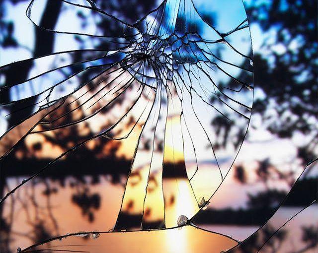 Broken and beautiful…